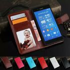 Luxury Flip Leather Wallet Stand Case Cover Skin For Sony Xepria Z4 Smartphone
