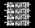 Bow Hunter Decals Set of four car truck vinyl decal sticker hunting graphic