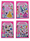 A to Z Magnetic Dress Up Set Designer Fashion Clothes Dressing Magnet Doll Toy
