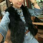 Winter Womens Faux Fur Gilet Jacket Coat Sleeveless Outwear Short Vest Waistcoat