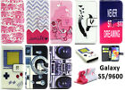 New Present PU Leather Flip Case Cover & Card Slot for Samsung Galaxy S5 i9600