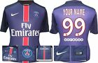 *15 / 16 - NIKE ; PSG HOME SHIRT SS / PERSONALISED = KIDS SIZE*