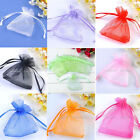 LOT 7x9cm Organza Gift Bags Wedding Favor Candy Party Jewelry Pouch Colors HOT