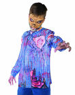 Photo Real Zombie Top Monster Horror Boys Halloween Costume