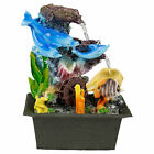 Indoor Waterfall Table Water Feature Feng Shui Tranquility Effect Mains Powered