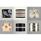 Fabric Diamante Floral Striped Ceiling Light Table Lamp Shade Lampshades Shades
