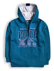 Boys Long Sleeved Arctic Polar Hoodie New Kids Sweatshirt Tracksuit Age 2-7 Year