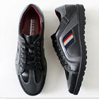 Premium New Lace up Casual Sneakers Shoes Black