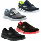 New Skechers Go Walk 2 Stance Womens Black Grey Trainers Shoes Size UK 4-8
