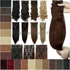"""Real Thick Clip in on Hair Extensions Extention 18 Clips Maga Long 19-26"""" sn98"""