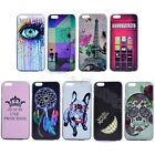 Multi-Color Fancy Painted Hard Tough Rigid Plastic Case Cover For Various Phones