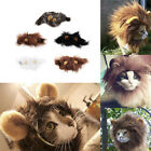 Pet Costume Lion Mane Wig for Cat Christmas Party Dress Up With Ears UR