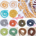 6-7mm Freeform Shape Cultured Rice Oval Fresh Water Pearl Shell Loose Beads DIY