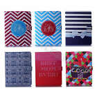 For iPad Samsung Popular Synthetic Leather Magnetic Case Stripe Stand Card Cover