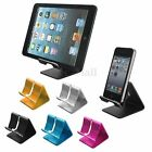 Mini Aluminium Alloy Desk Table Desktop Stand Holder For Cell Phone Tablet Tab