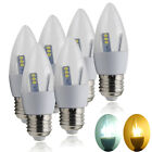 Buy 10 Get 2Free 6/12x E27 ES 5W LED SMD Candle Bulb Day Warm White Chandelier