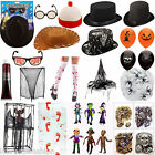 HALLOWEEN ACCESSORIES HATS GLASSES DECORATIONS BLOOD BALLOONS HANGINGS VAMPIRE