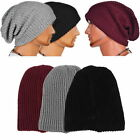 Chic Men Women Warm Winter Knit Ski Beanie Skull Slouchy Oversize Cap Hat Unisex