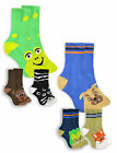 Boys Bright Novelty Character Socks New Childrens 3 Pack Of Cotton Rich Socks