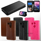 For LG Nexus 5X Hybrid PU Leather Flip Wallet Case Cover Stand Book Style