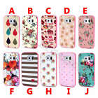 For iPhone Samsung Colorful Tough Glitter Bling PC Plastic Back Case Cover Skin