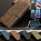 MOHOO Retro Leather Flip Card Wallet Case Cover Stand For Samsung S6 Edge+/Note5