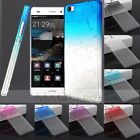 "3D Water Rain Drop Crystal Clear Hard PC Case Cover For Huawei P8 5.2""/Lite 5.0"""