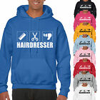 grabmybits - Hairdresser Design Hoodie - Gift Stylist Hair Cut Hooded Top