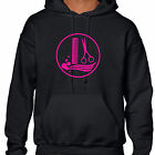 grabmybits - Hairdresser Comb & Scissor Design Hoodie - Salon Stylist Uniform