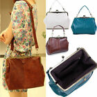 Retro Lady Women PU Leather Shoulder Purse Handbag Totes Bag Satchel From UK