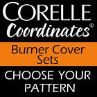 CORELLE Economy Electric BURNER COVER Round Set of 4