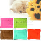 New Soft Washable Pet Dog Cat Warm Bed Cushion Mat with Fleece Comfy Fabric UK