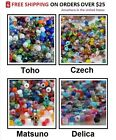 11/0 Seed Beads Mix 10-Grams Toho Czech Delica Matsuno Choose Brand