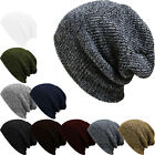 5Color Fashion Women Men Beanies Winter Warm Unise Knit Ski Crochet Slouchy Hat