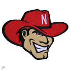 Nebraska Cornhuskers Primary Mascot Logo Embroidery Iron On Patch Hat Football