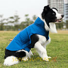 Dog Winter Waterproof Warm Fleece Jacket Coats Vest Sweater for Medium Large Pet