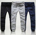 Stylish Mens Casual Sporty Hip Hop Dance Harem Baggy Sport Sweat Pants Trousers