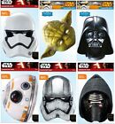 STAR WARS EPISODE 7  FORCE AWAKENS CARD FACE MASK PARTY FANCY DRESS GIFT