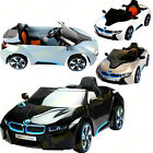 NEW LICENSED BMW I8 NEW DESIGN 12V TWIN MOTOR  KIDS RIDE ON CAR REMOTE CONTROL