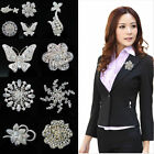 Xmas Gift Wedding Party Costume Breastpin Elegant Flower Bouquet Brooch Pin Hot