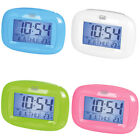 Trevi Digital LED Travel Alarm Clock Snooze Calendar Thermometer FREE DELIVERY