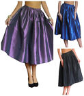 Skirt Ladies Rockabilly 50's Retro Swing Evening Party New Long Size 10 12 14 16