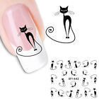 Nail Art Sticker Tattoo Water Transfer Fingernagel Aufkleber Blüten Design