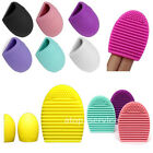 NEW Cleaners Egg Cleaning Glove MakeUp Washing Brush Scrubber Board Brushegg