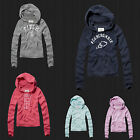 New Abercrombie & Fitch By Hollister Women Jana Pullover Hoodie Sweatshirt NWT