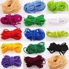 2/5M Stretchy Round Elastic Round Cord Beading String Thread Roll 3mm 14 colors