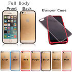 Full Body Touchable Front Back Hard Bumper Case Cover For Apple iPhones 4s 5s 6s