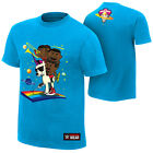 The New Day Feel The Power WWE Authentic Mens Blue T-shirt