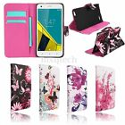 Paint Flip Leather Card Wallet Case Cover Stand For Vodafone Prime/Ultra/First6