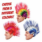 Fancy Dress Funky Mohican Hair Wig perfect for Darts Stag Party 80's 70's